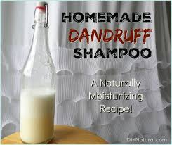 natural remes for dandruff homemade shampoo