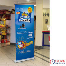 Roll Up Banner Stand Display Pull Up Banner Printing Uk