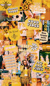 yellow collage💛🍯🌼