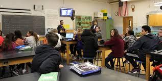 Woodbury Middle School Las Vegas M W Alumnus Brings Drone Curriculum To Ms Monroe Woodbury