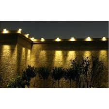 exterior solar lights solar outdoor light fence garden gutter roof wall pathway 3 led lamp solar exterior solar lights