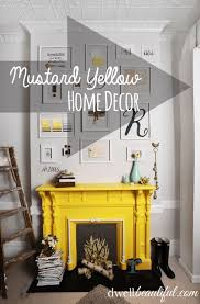 mustard yellow home accents. Beautiful Yellow Mustard Yellow Has Really Picked Up In Popularity The Last Couple Years And  You Can Find It Clothing Nail Polish Furniture Home Accents Of Course  Intended Yellow Home Accents E