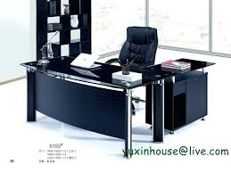 office desks glass glass office desk furniture tempered glass office desk boss desk table commercial office