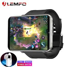 Đồng Hồ Thông Minh LEMFO LEM T 4G 2.86 Inch Màn Hình Đồng Hồ Thông Minh