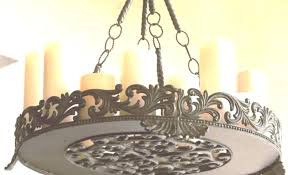 non electric chandelier outdoor votive candle refer to