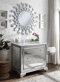 mirror reflection. Perfect Mirror 42u201d Mirror Reflection Asha Bathroom Vanity W Palmire Mirror  DH3282 With Reflection