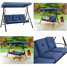 mainstays patio swing worthy mainstays patio swing replacement cushions