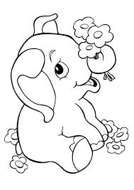 45 Disegni Di Elefanti Da Colorare Pianetabambiniit