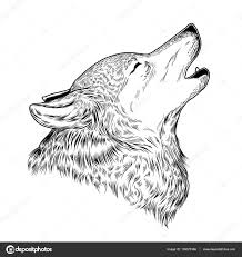 25 Het Beste Huilende Wolf Tekenen Mandala Kleurplaat Voor Kinderen