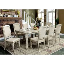 furniture of america dining sets. Furniture Of America Caplin Traditional 9-piece Antique White Dining Set With 18-inch Leaf - Free Shipping Today Overstock 23746129 Sets D