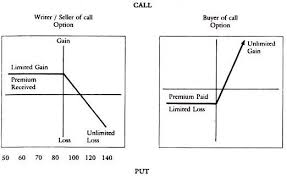 Call Put Option Charts Option Pricing Trading And Risks Instruments Financial