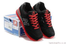 new balance shoes 574 mens. 2017 fashion new balance 574 mens ml574gky black red trainers online uk shoes n