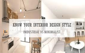interior design furniture minimalism industrial design. Modren Minimalism Articles Home  Articles Know Your Interior Design Style Industrial  Vs Minimalist With Furniture Minimalism I