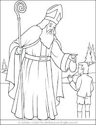 Great Saint Coloring Pages R6278 Majestic Catholic Easter Colouring