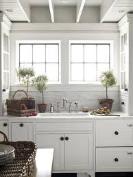 Exellent White Cottage Kitchens Love G On Perfect Design