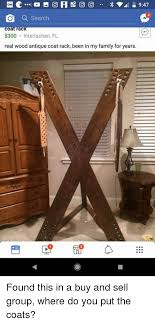 Antique Coat Rack For Sale Cool Q Search Coat Rac 32 Interlachen FL Real Wood Antique Coat Rack