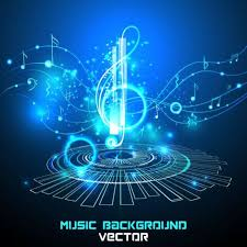 cool music background designs. Perfect Designs Futuristic Music Background Design Vector 03 On Cool Music Background Designs G