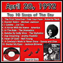 April 20 1972 Growing Up Remember When Vintage