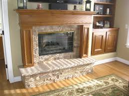 stone wall fireplace ideas elegant indoor fireplace ideas with natural seam stone tile texture eposed