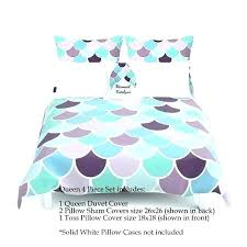 purple and aqua bedding purple and aqua bedding mermaid scale bedding mermaid bedding duvet cover aqua mint purple comforter cover purple and aqua bedding