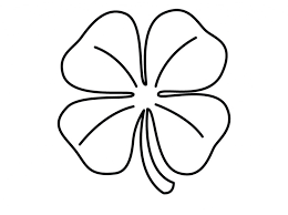 Small Picture Printable Shamrock Coloring Pages Coloring Me