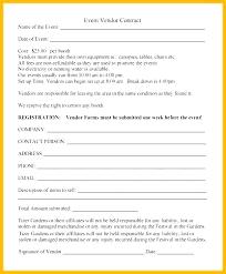 Vendor Form Template How Vendor Registration Form Template