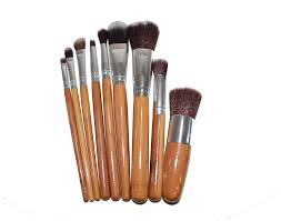 home makeup brushes bamboo makeup brush set