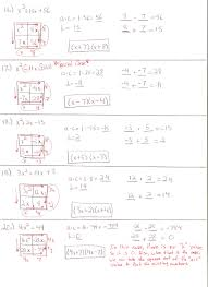 worksheet factoring trinomials with leading coefficient 1