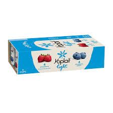 yoplait light yogurt variety pack strawberry blueberry patch 48oz 8ct walmart