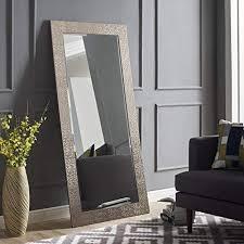 Image Brass Image Unavailable Amazoncom Amazoncom Naomi Home Mosaic Style Mirror Silver655