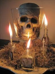 Top 15 Easy Halloween Centerpieces With Candle  Interior Decor For Party  Design