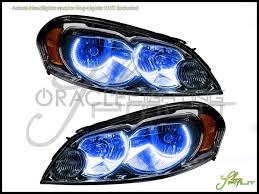 06-13 Chevrolet Impala LED Dual-Color Halo Rings Headlights Bulbs
