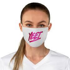 Adjustable Yeet mask Reusable yeet Face mask yeet mask yeet | Etsy