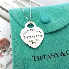 tiffany return to tiffany large heart tag necklace