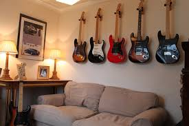 wall guitar hangers design ideas advice for your home decoration