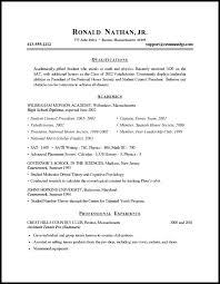 Sample Objective On Resume Objectives On Resume Amusing Resume