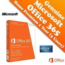 microsoft office 365 home. genuine microsoft office 365 home premium 1 year 5 users package