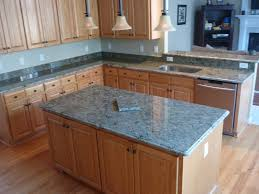excellent light oak cabinets with granite countertops accordingly