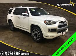 New 2017 Toyota 4Runner Limited 4D Sport Utility in Mattoon ...