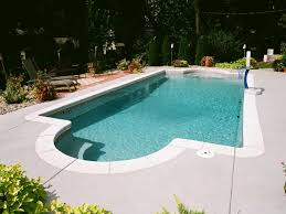 Blue Hawaiian Fiberglass Swimming Pool Home Landscapings