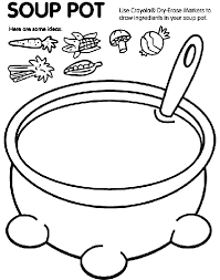 Small Picture Soup Pot Coloring Page crayolacom