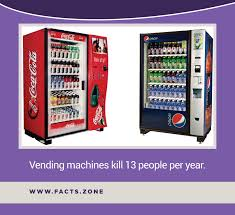 Facts About Vending Machines Enchanting Facts Zone Vending Machines Kill 48 People Per Year