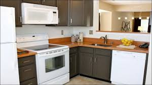 Repaint Kitchen Cabinet Several Ideas In Repainting Kitchen Cabinets In Simple Ways