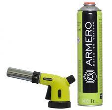 <b>Горелка газовая</b> с пьезоподжигом баллон 330г <b>Armero</b> - купить в ...