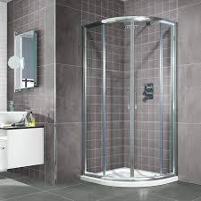 6mmthick 4mmthick 10991 4mm900 aquafloe 900 x sliding 6mm door quadrant shower enclosure
