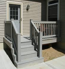 Glass Deck Railing Home Depot Stair Railings Exterior Gl Design