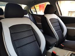 car seat covers protectors land rover freelander 2 black white no26 complete