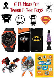 Gift Ideas For Tween & Teen Boys | Emily Reviews