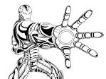 Раскраски железные человеки