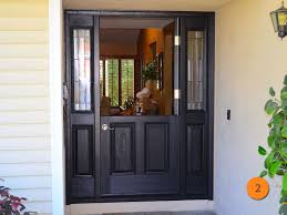 traditional style single dutch entry door with 2 sidelights size 36x80 plastpro drm60 in